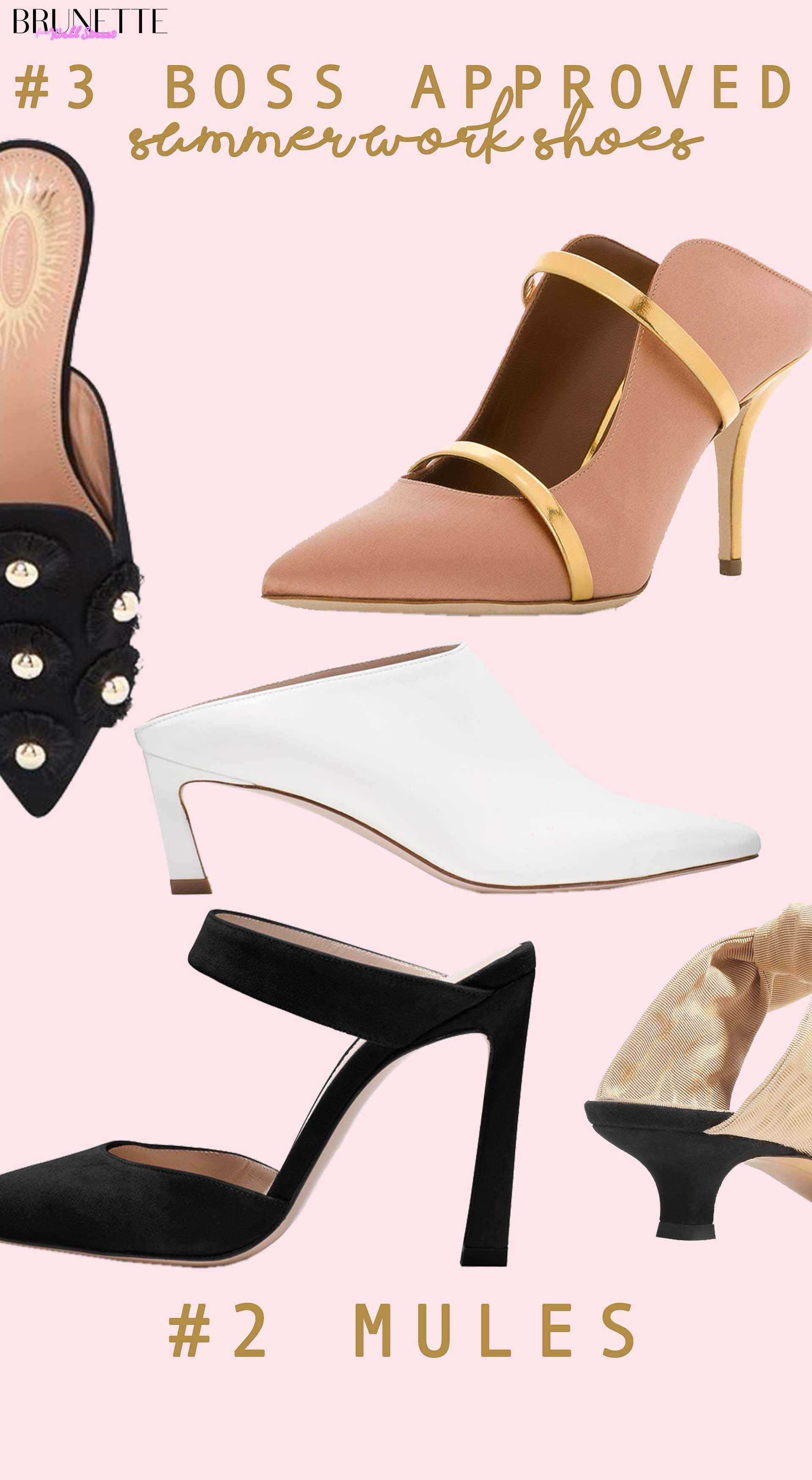 2020 Summer Work Shoes | Brunette from