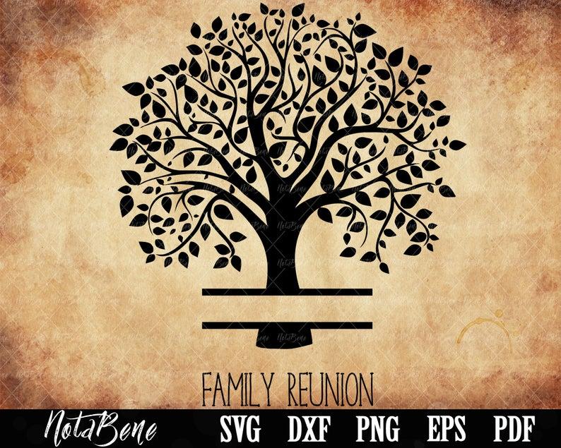 Family Reunion Svg Family Tree Svg Family Svg Tree Monogram Etsy In 2021 Family Reunion Tree Svg Monogram Svg