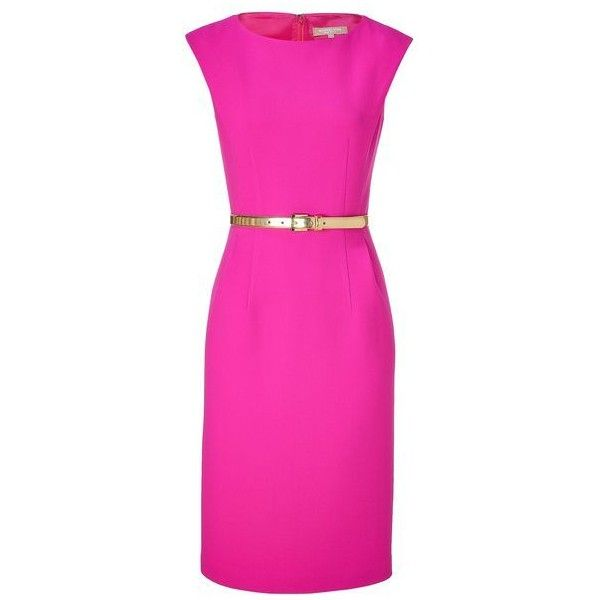 Women\'s Hobbs Dresses ❤ liked on Polyvore featuring dresses, pink ...