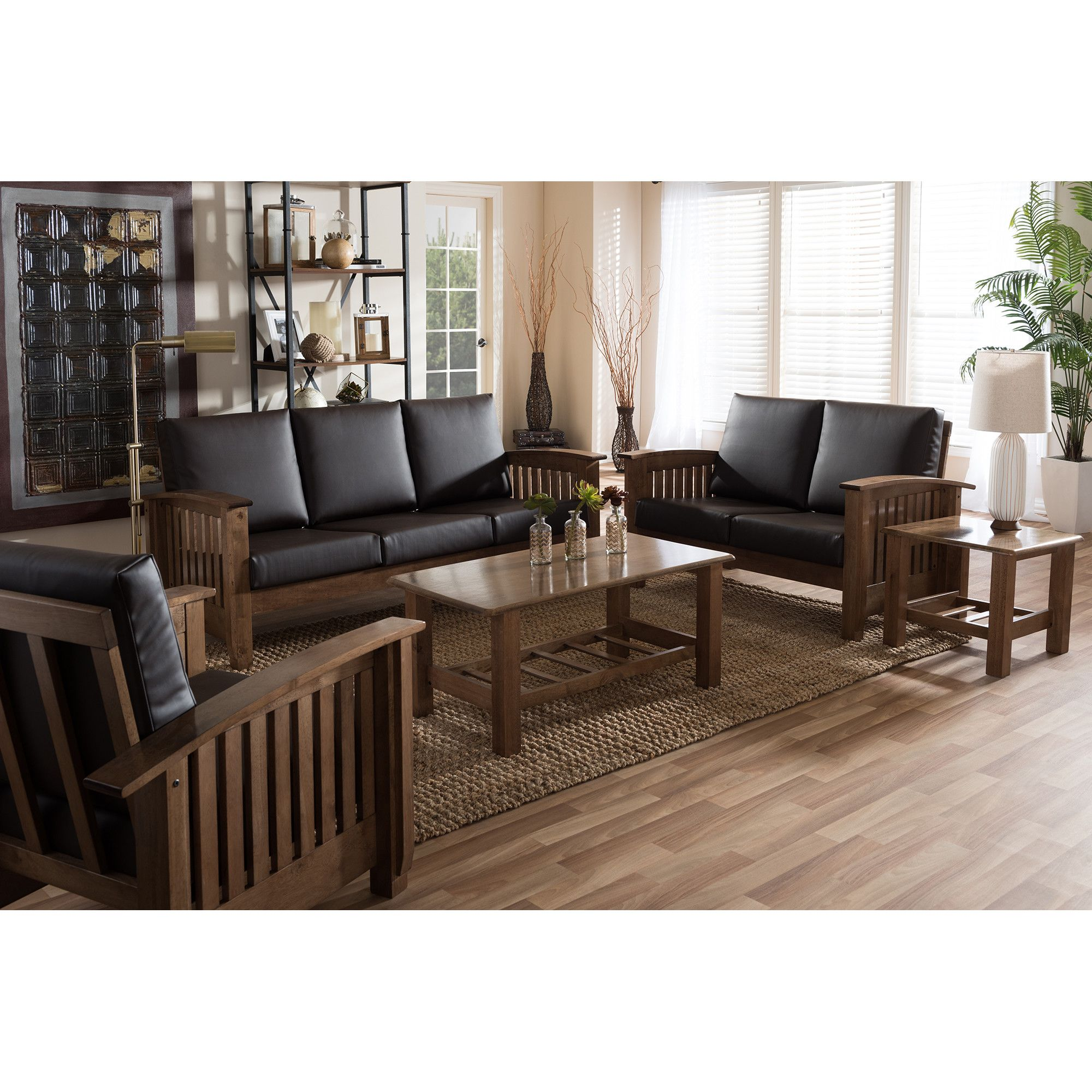 2293 Best Images About Leather Sofas And Living Room: Bierman 5-Piece Living Room Set