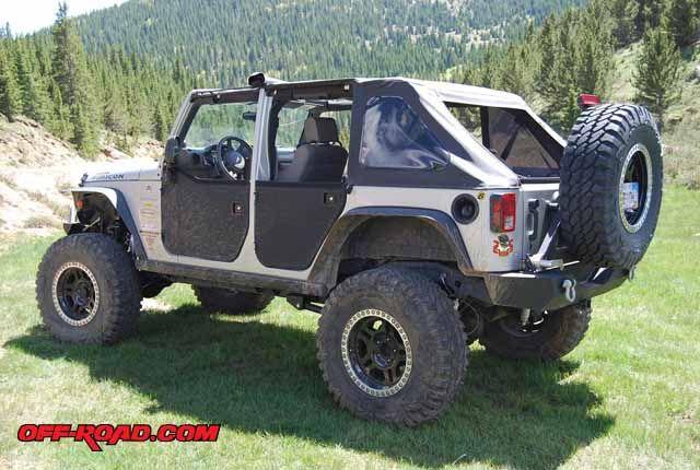 Jeep Jku Half Doors