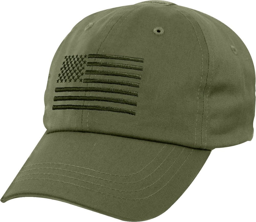 Olive Drab Tactical Operator Cap with Subdued USA American Flag Adjustable  Hat  Rothco  OperatorCap 07c3c7a839d0