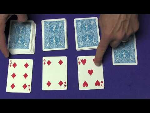 Easy Great Card Trick Tutorial Better Quality Youtube With