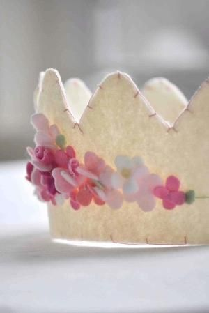 felt crown by Pateruska #feltcrown felt crown by Pateruska #feltcrown