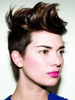 Pin On Women S Buzzed Short Haircuts