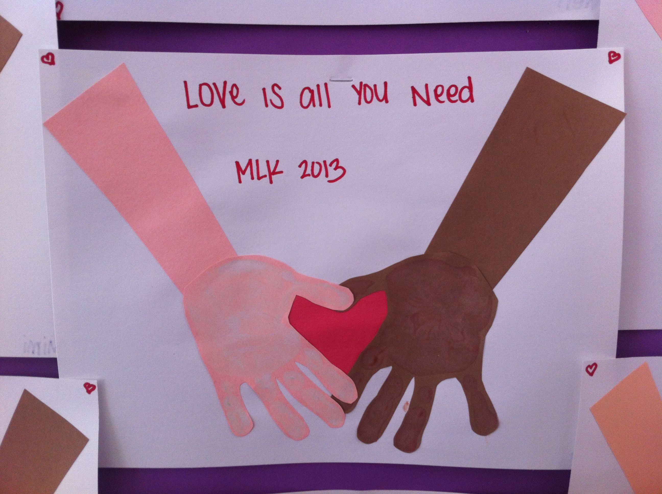 Our Martin Luther King Jr Day Project