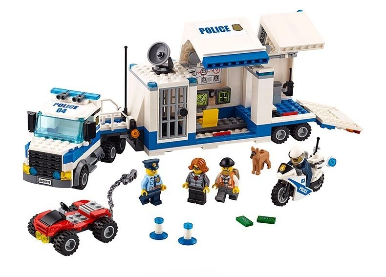 Click To Buy Bricks Toy Diy Building Blocks 02017 Compatible With Lego City Police Mobile Command Center Mobile Command Center Lego Police Lego City Sets