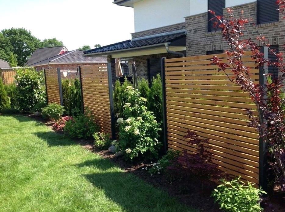 Moderner Garten Sichtschutz Unglaublich Interessante