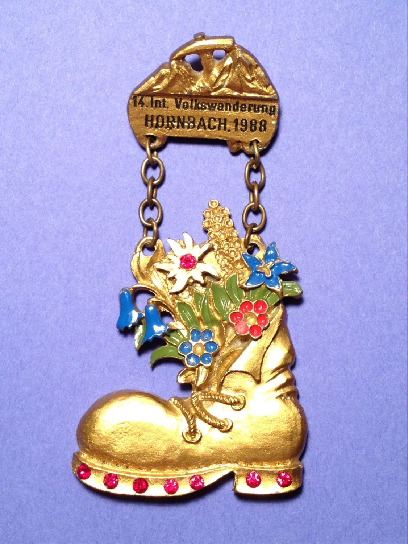 VOLKSWANDERUNG Medal Hornbach 1988... Christmas