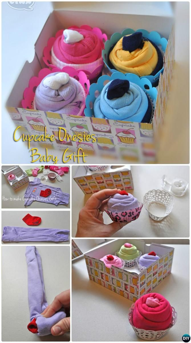 Diy baby onesies cupcake gift box handmade baby shower gift ideas diy baby onesies cupcake gift box handmade baby shower gift ideas instructions solutioingenieria Image collections