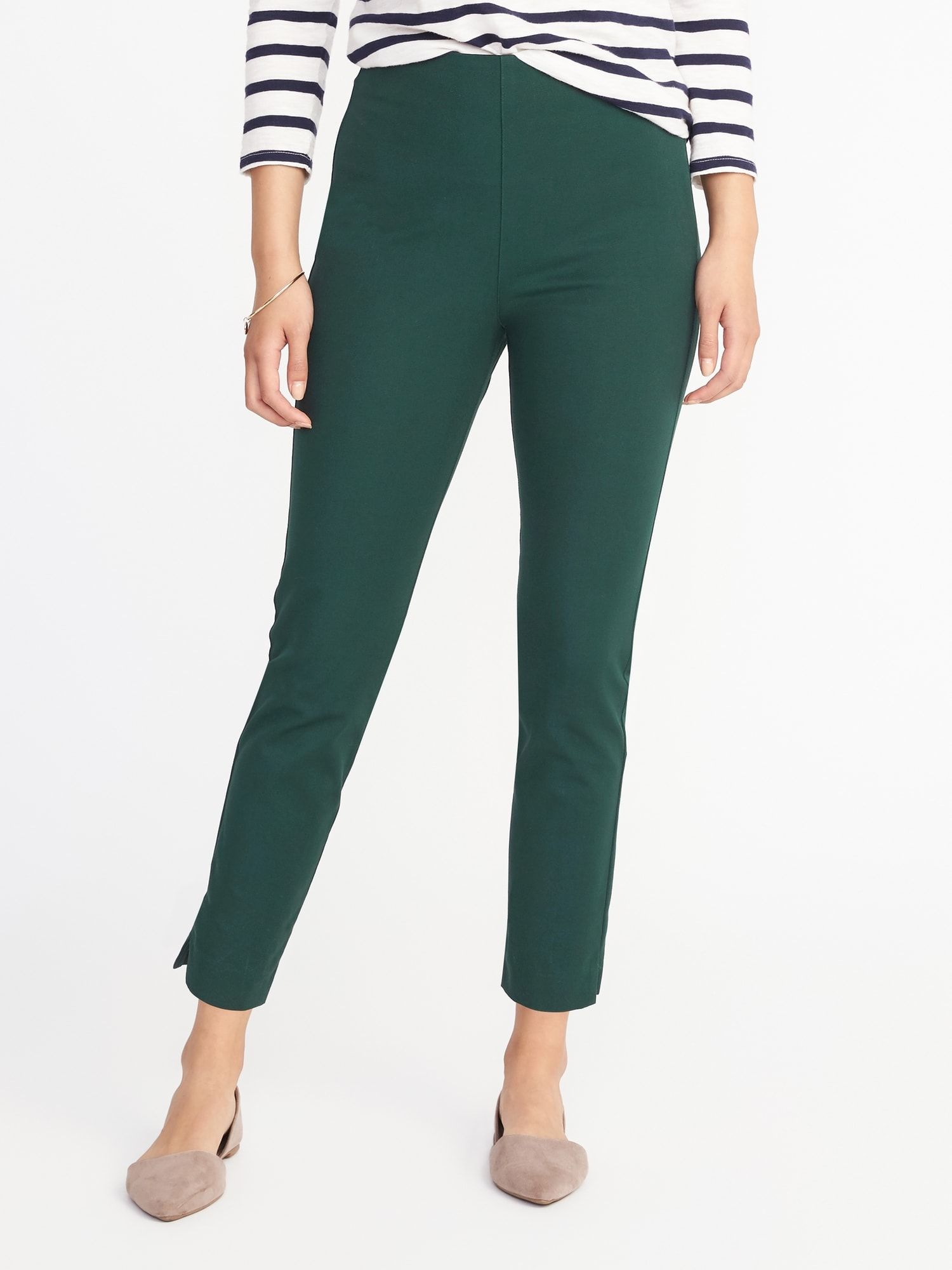50ab734991f High-Rise Pixie Side-Zip Pants for Women