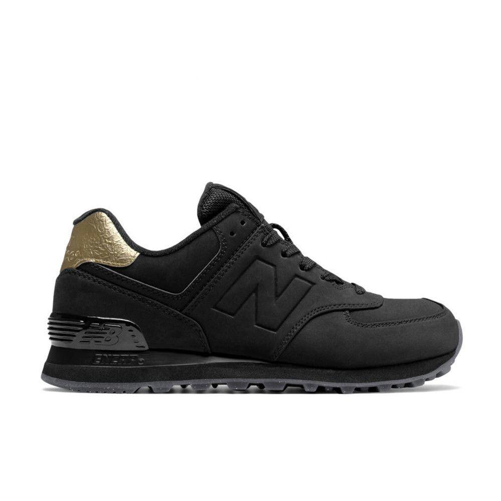 zapatillas new balance mujer negras y doradas