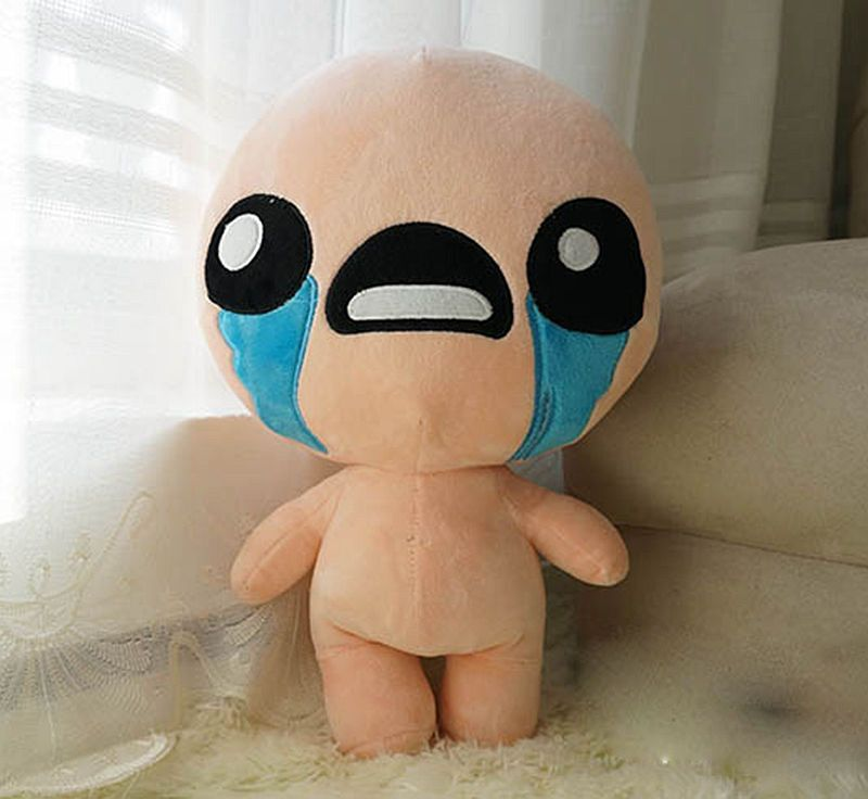 The Binding Of Isaac Stuffed Plush Toy Soft Doll Issac