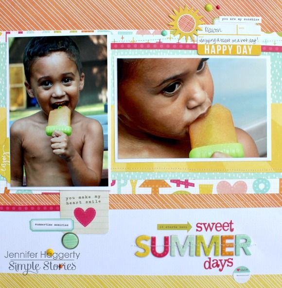 Summer+Days - Simple Stories using the Sunshine and Happiness collection