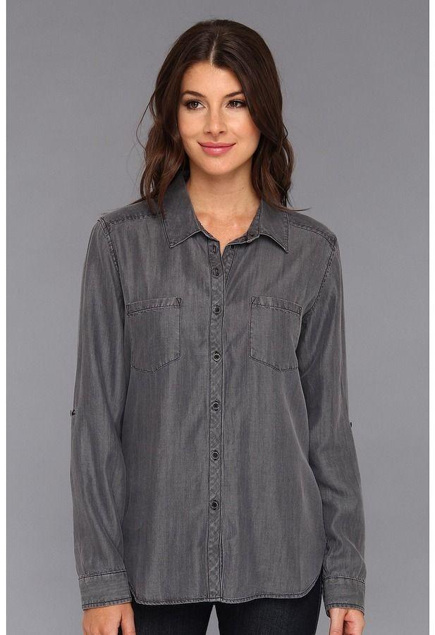 $118, Grey Denim Shirt: C
