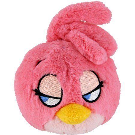 Angry Birds Stella Bird Plush Toy Small Pink