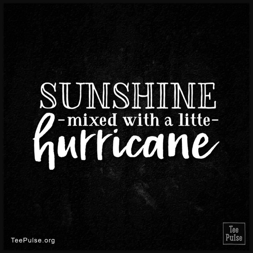 Sunshine Mixed With A Little Hurricane Memes Quotes Me Quotes Sayings