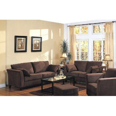 Brown Couch Need To Add Orange Teal Or A Green Brown Furniture Living Room Brown Living Room Brown Sofa Living Room