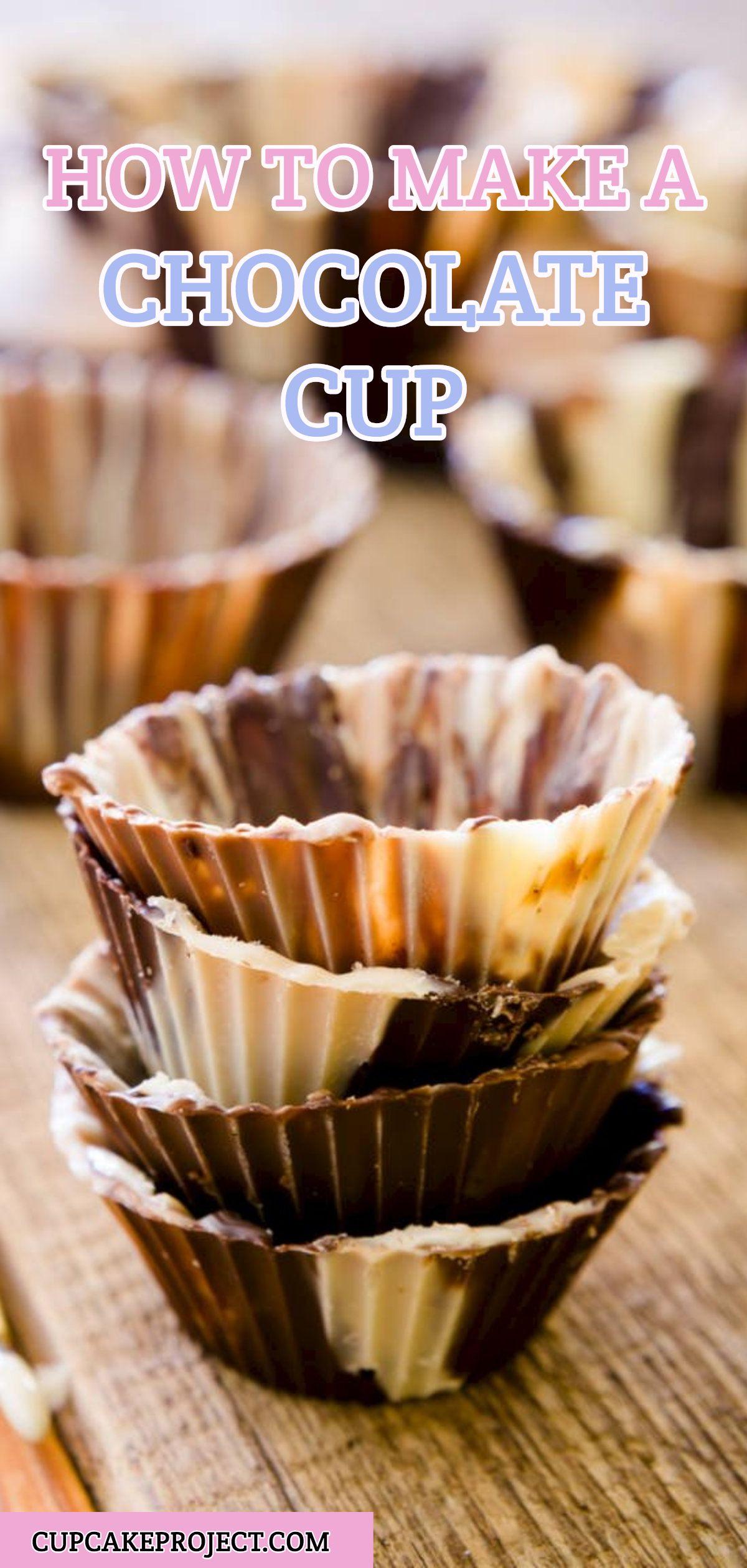 How To Make A Chocolate Cup Recipe Chocolate Cups Savory