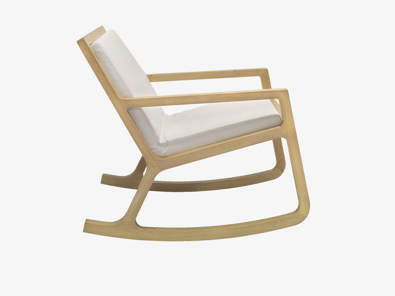 rocker neutre bois fauteuil bascule fauteuils habitat l60xp84xh75cm 520 rocking chair. Black Bedroom Furniture Sets. Home Design Ideas