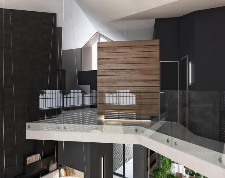 Dunkle Hallen \u2013 entdecken Sie die Innenräume in Schwarz Wohnzimmer - wohnzimmer schwarz wei