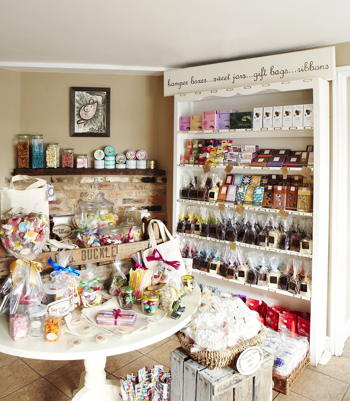 Decor Shops: Vintage Sweet Shop Decor Inspiration