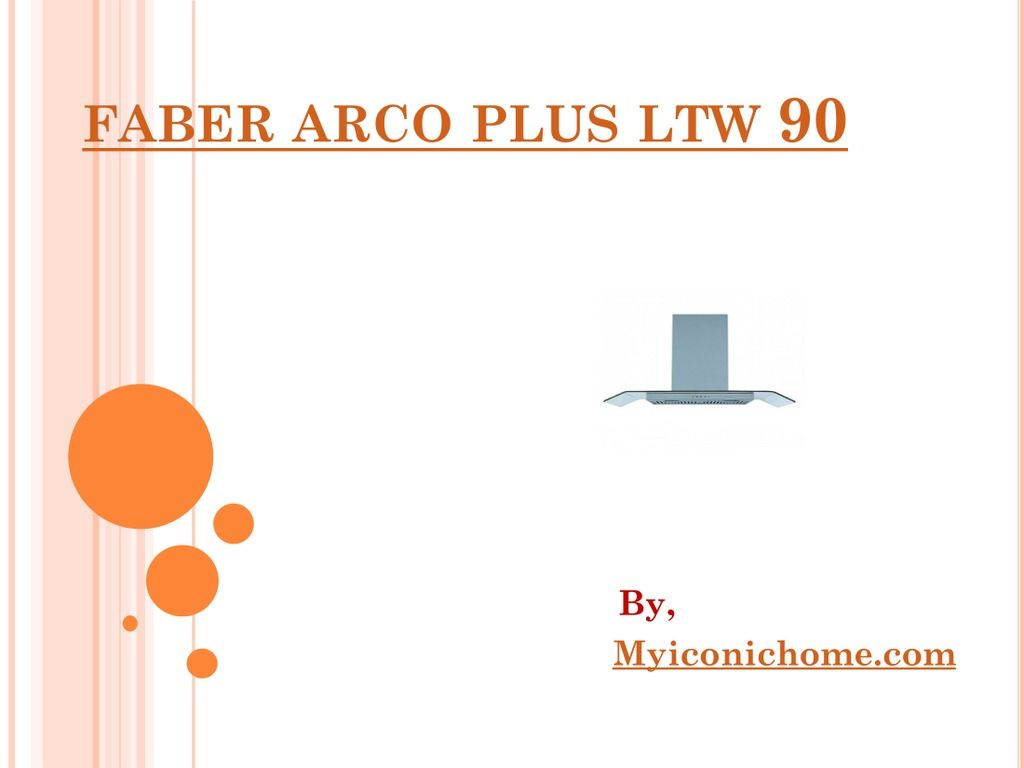 Shop Faber Arco Plus LTW 90 - Kitchen Chimney and Hood at Best ...