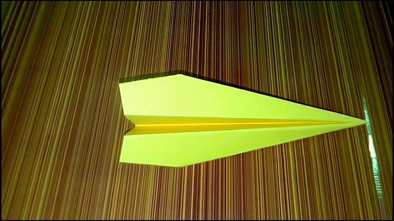 How To Make Paper Plane Origami Kagaj Ka Plane Kaise Banate Hain क Novelty Lamp Lamp Table Lamp