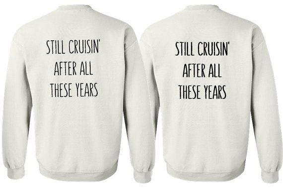 05627bfa3e Matching couple sweatshirt. His and her sweatshirt. Anniversary gift ...