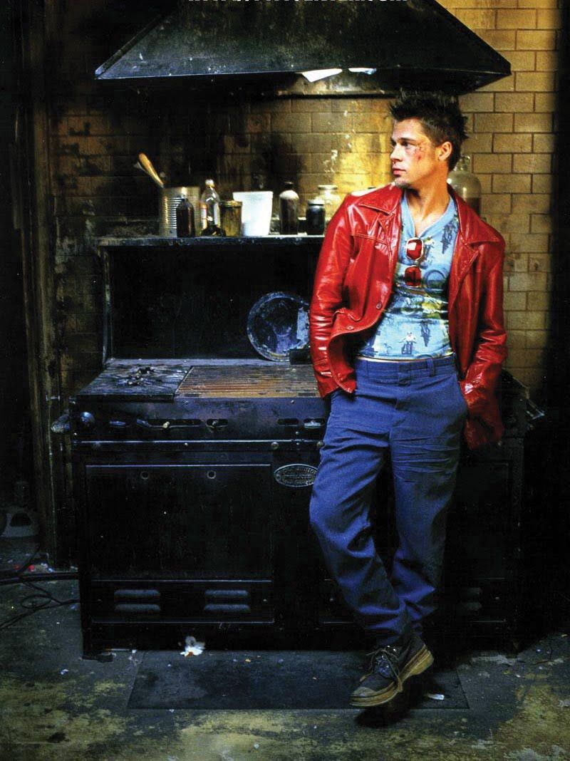 Costume designer Michael Kaplanu0027s pieces for Fight Club.  sc 1 st  Pinterest : brad pitt halloween costume  - Germanpascual.Com