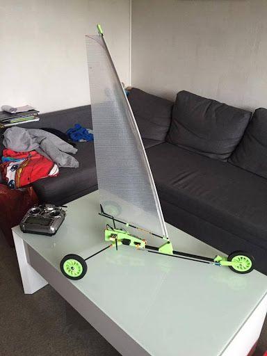 Land yacht RC class 1 3DThursday 3DPrinting 3d