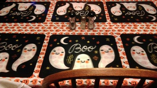 Fun Halloween table