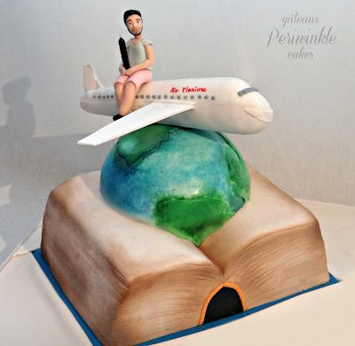 A cake for the worldly scholar!