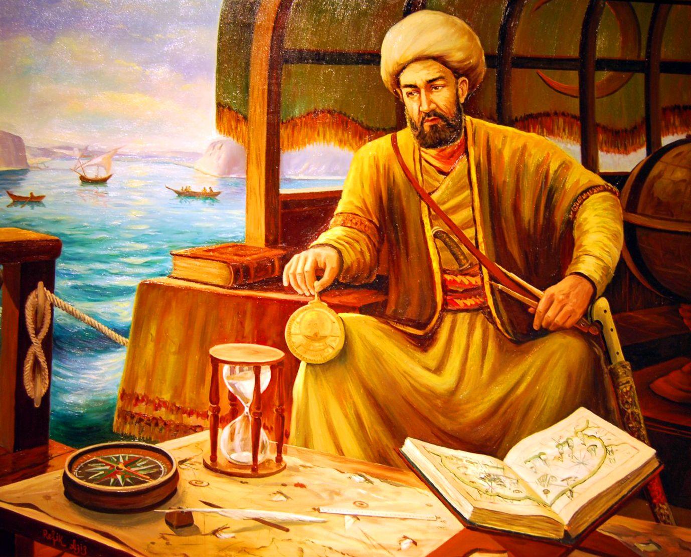 Ottoman admiral Piri Reis