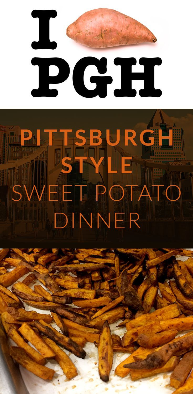 I Heart Pittsburgh Sweet Potatoes