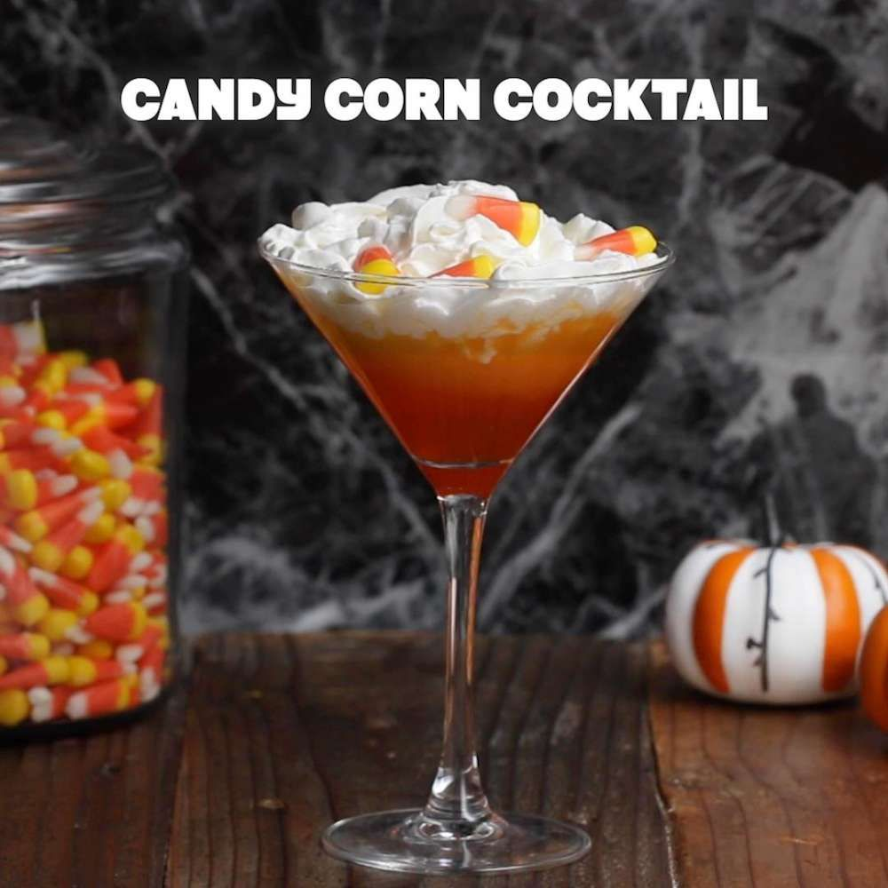 Candy corn cocktail recipe by tasty recipe tasty