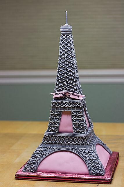 Eiffel Tower Birthday Cake Cakes Beautiful Cakes for the Occasions