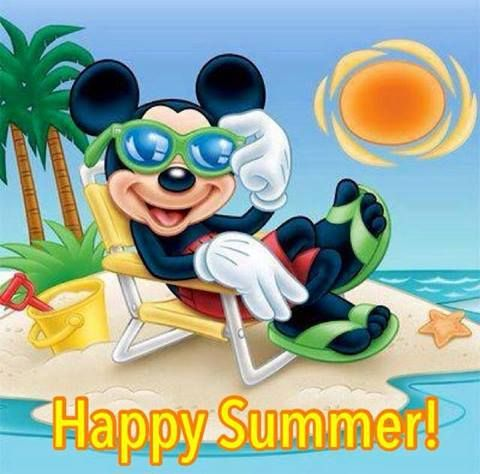 Good morning and Happy First Day of Summer!! #MickeyMouse# ...