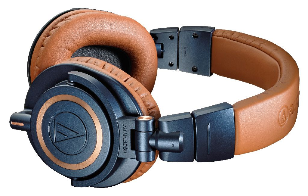 Audio Technica ATH-M50x Professional Studio Monitor Headphones - best over ear headphones