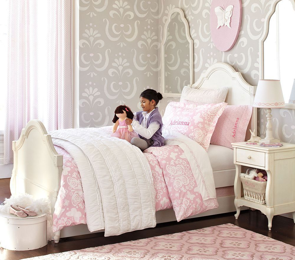 Pottery Barn Kids Bedroom Design Genevieve Collection... so pretty ...