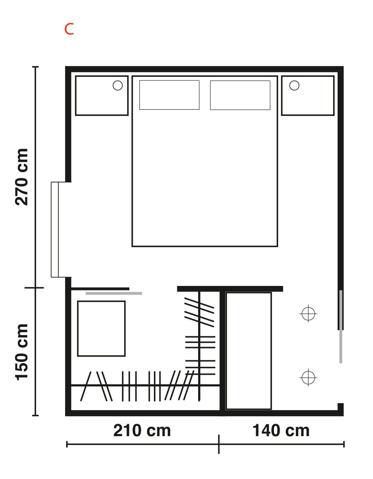 Ampia come una stanza o piccola come una nicchia la cabina armadio lo spazio pi desiderato - Camera da letto con cabina armadio e bagno ...
