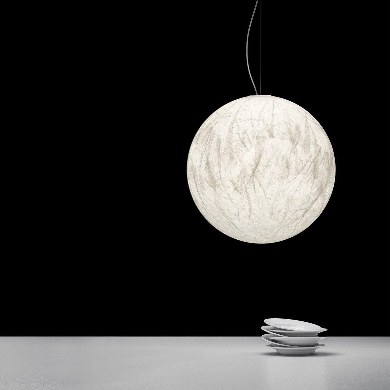 Davide Groppi | MOON - Suspension lamp | light | Pinterest ... for Moon Lamp Hanging  45hul