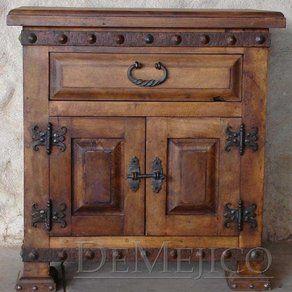 custom spanish style furniture. Mesquite Alamo Nightstand Custom Made By Demejico Inc - Manufactures Of Spanish Style Furniture , Doors E