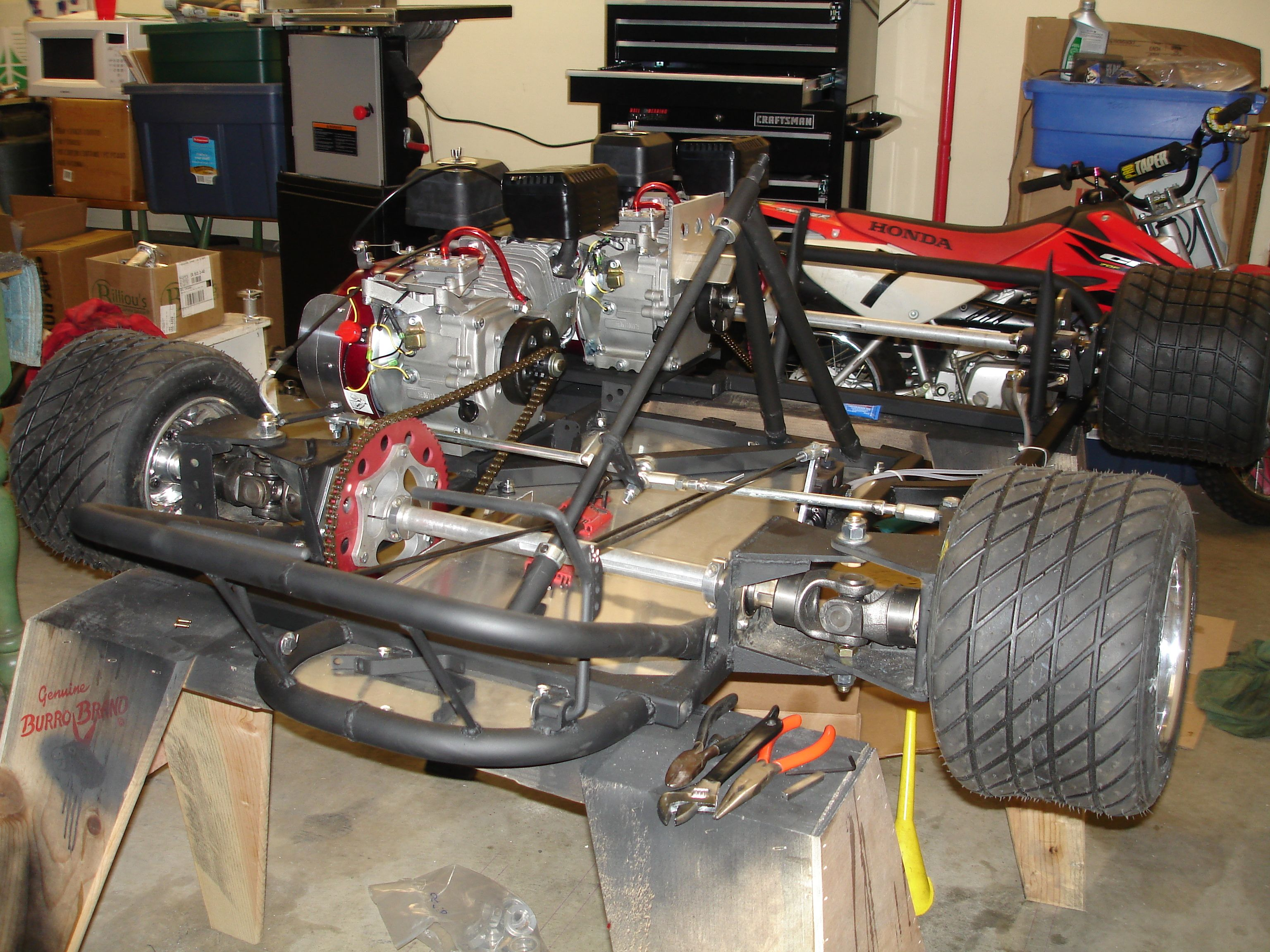 Building an AWD go kart was a lot of fun and quite the learning ...