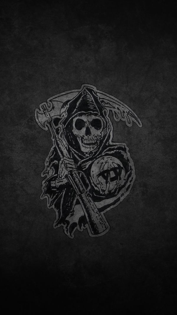 Sons Of Anarchy Iphone Wallpaper Wallpapersafari Sons Of Anarchy Anarchy Sons