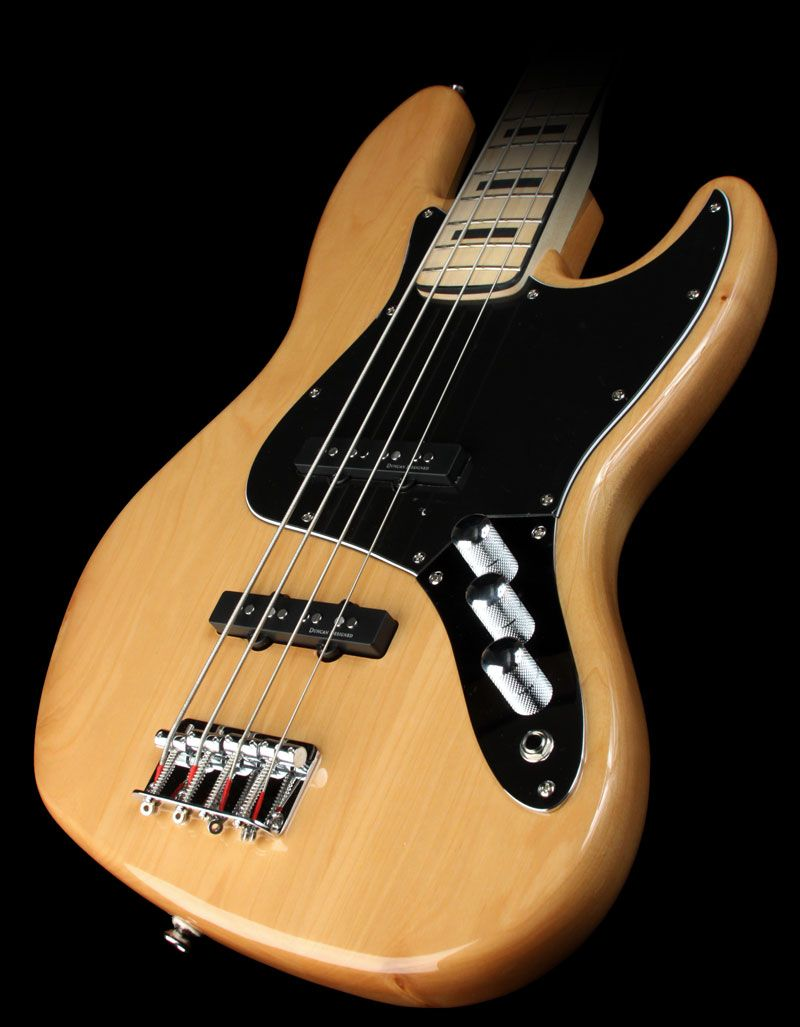Vintage Modified Jazz Bass 70s Squier S Vintage Modified Jazz Bass 70s Returns You To A Great Period In Jazz Bass History W Bass Guitar Guitar Fender Bass