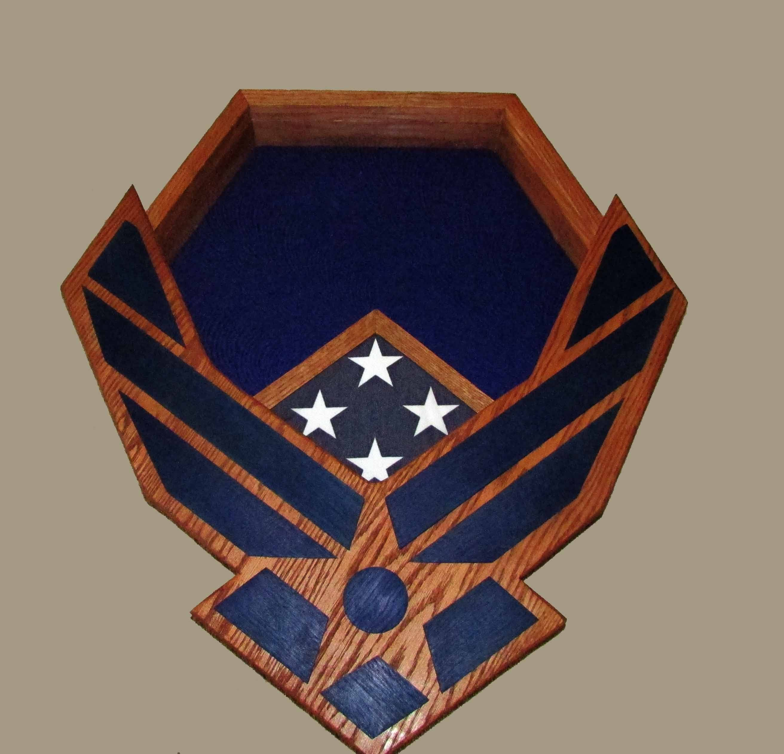 How to build your own Air Force Shadow Box DIY. This
