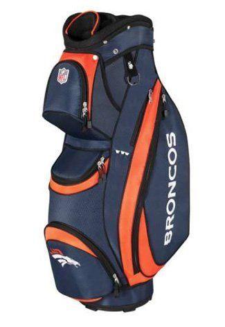 Nfl Denver Broncos Wilson Cart Golf Bag 10 X 9 Inch By 199 99 Construction And Premium Diamond Rip Stop Fabric Add Durability