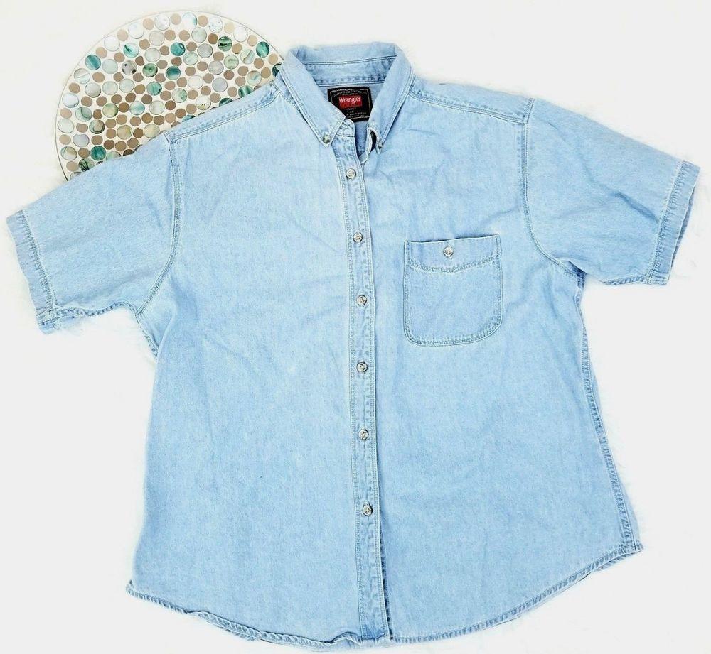 womens denim shirt xl