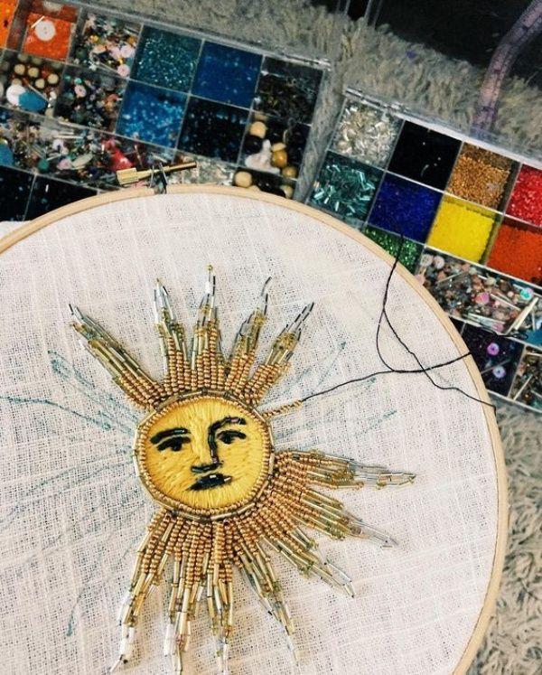 40 idées étonnantes de motifs de broderie à la main   – DIY Embroidery